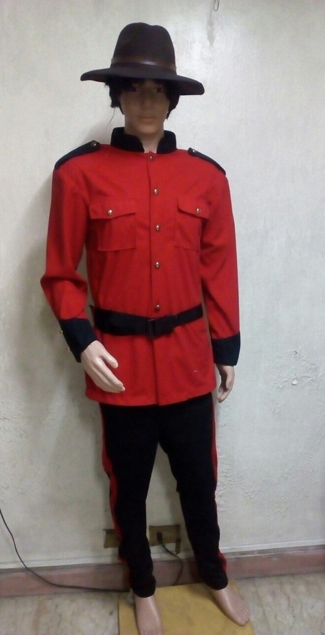 Canadian Mounted Police Costume