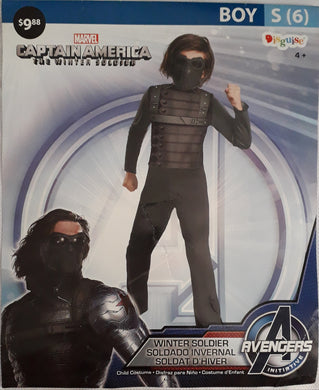 Captain america winter soldier costume for kids (6-7yo)
