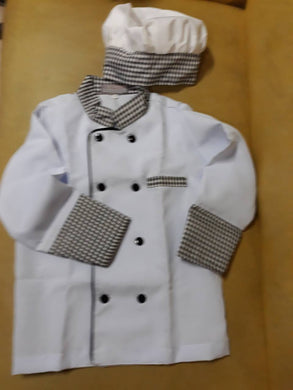 Chef Costume for Kids 3-4y