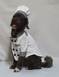Chef Dog and Cat Costume