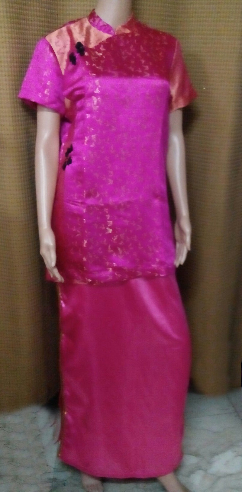 Chinese Fuschia Costume