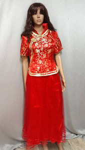 Chinese Red Costume 1