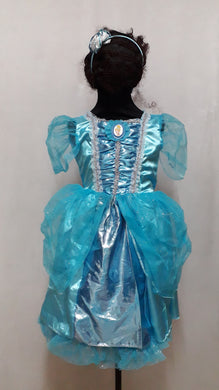 Princess Cinderella Costume for Kids 3-4yo)
