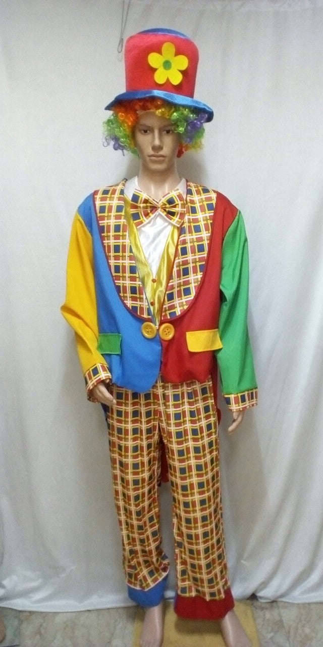 Clown Costume Checkered
