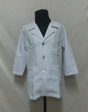 Doctor Coat Costume for kids 3-10y