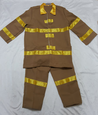 Fireman Costume for Kids 7-8y