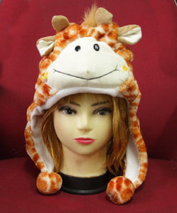 Giraffe Headdress for Kids 3-8y