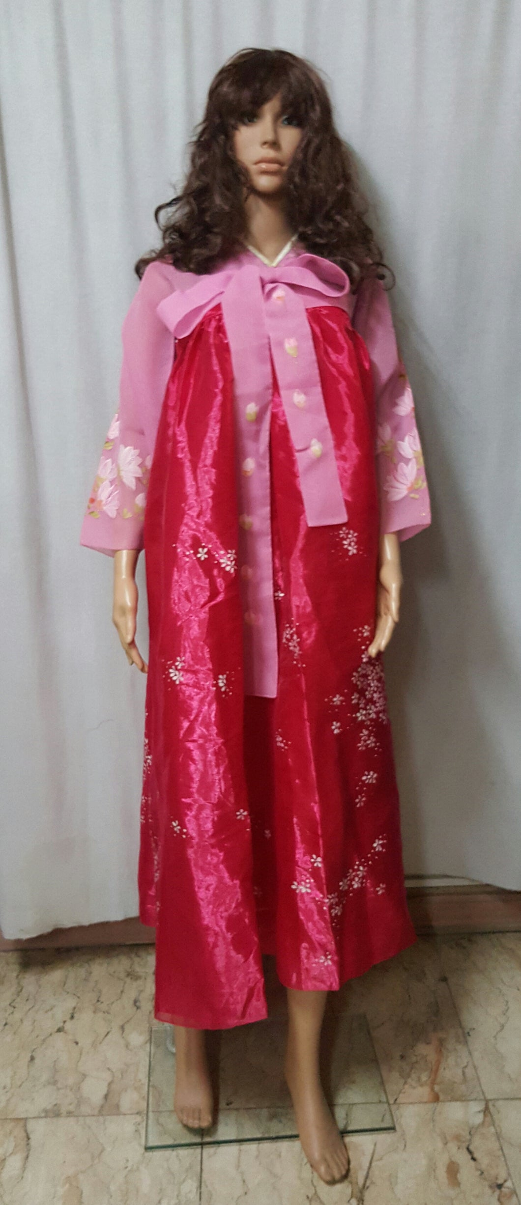 Korean Hanbok Costume, Lady 2