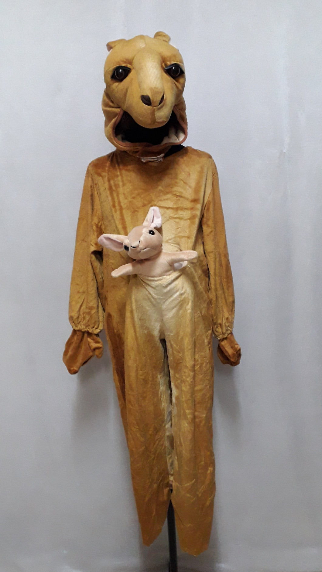 Kangaroo Animal Safari Costume for Kids (5-6yo)