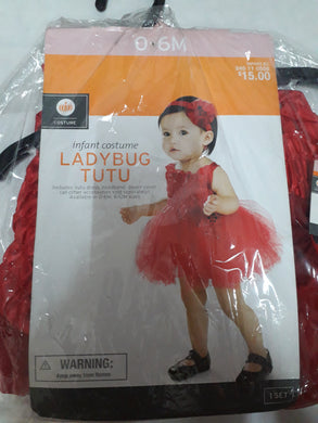 Lady Bug Costume for Kids 6mos