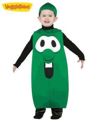 Larry the cucumber costume for kids (3-4yo)