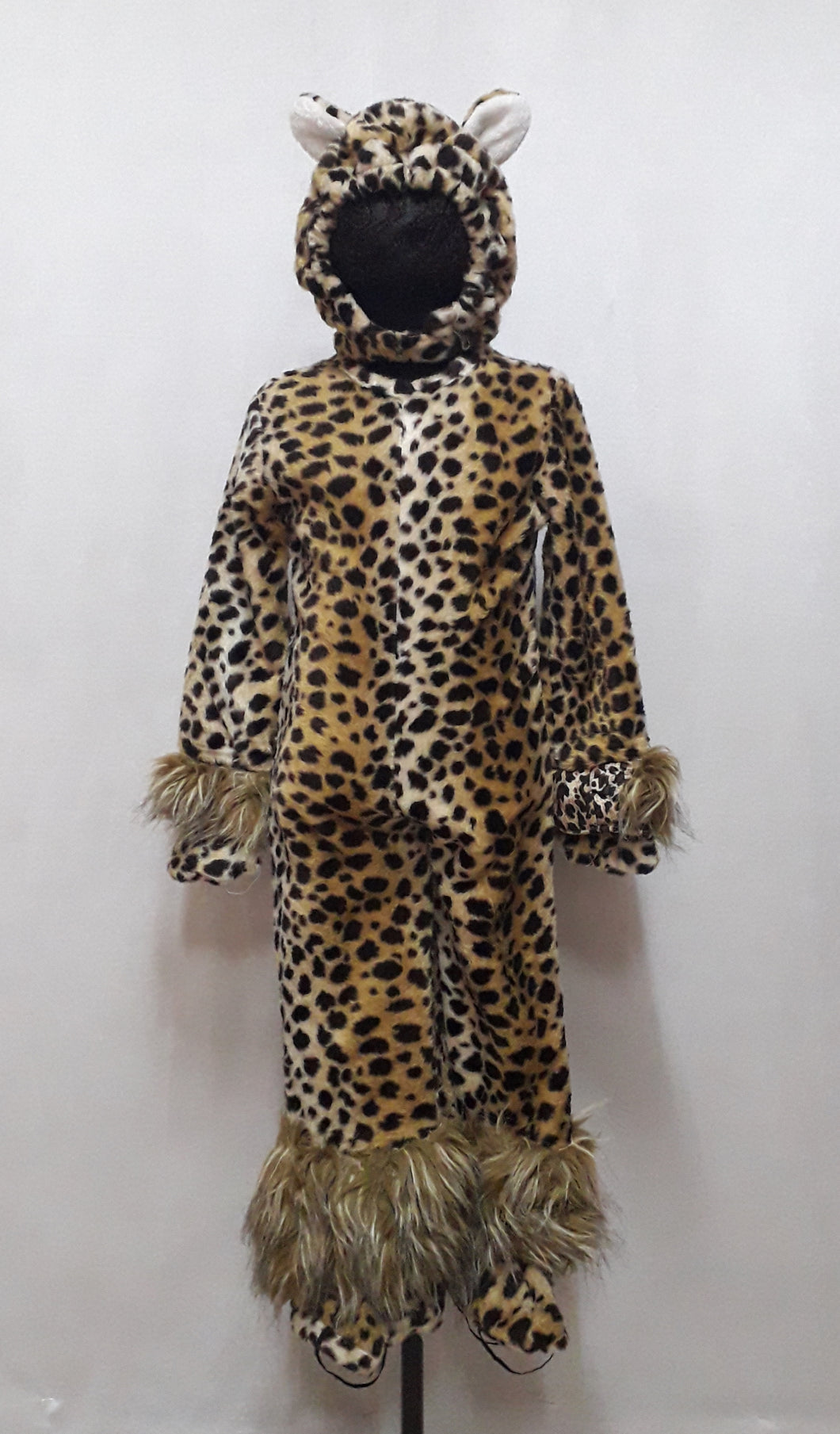 Leopard Cheetah Animal Safari Costume for Kids (5-6yo)