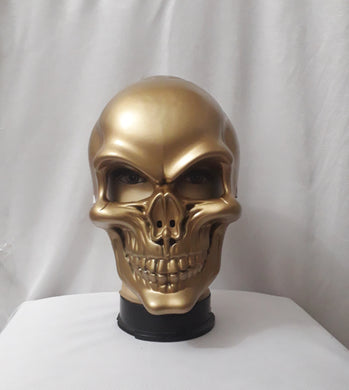 Skeleton Mask, Gold