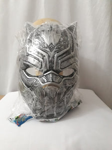 Black Panther Mask (Silver)