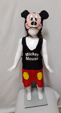Mickey Mouse Costume (1-2yo)