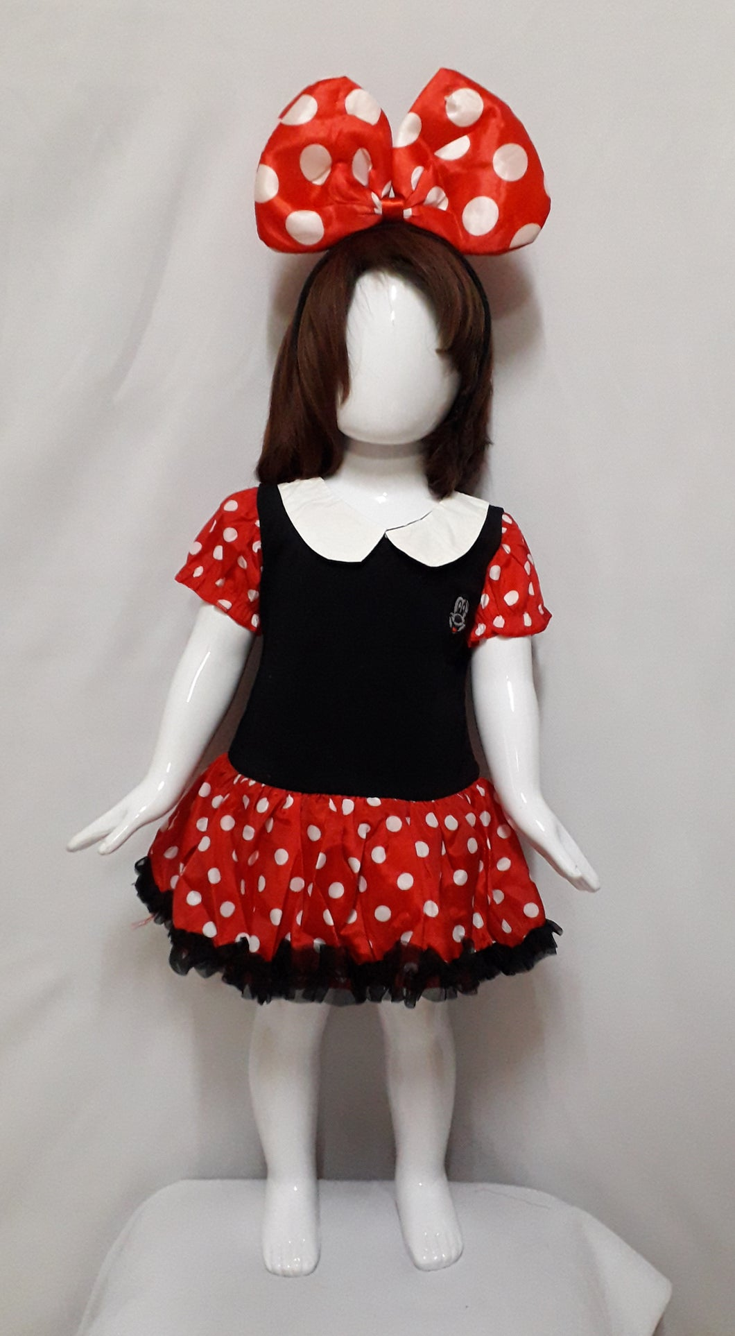 Minnie Mouse Costume (1-2yo)