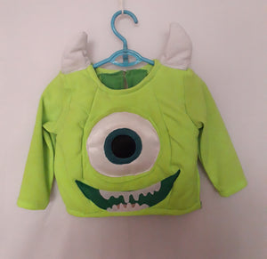 Mike Monsters Inc costume for Kids 3-4y
