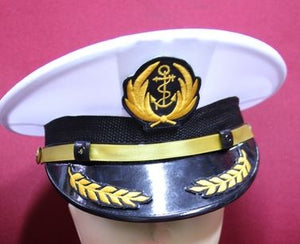 Navy Sailor Cap for Kids 1y
