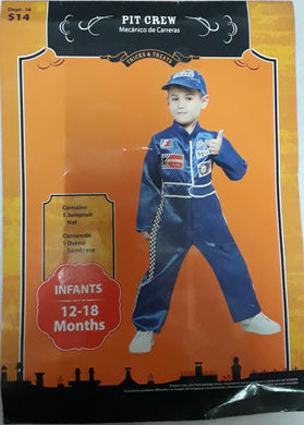 Pit Crew Costume for Kids 2y