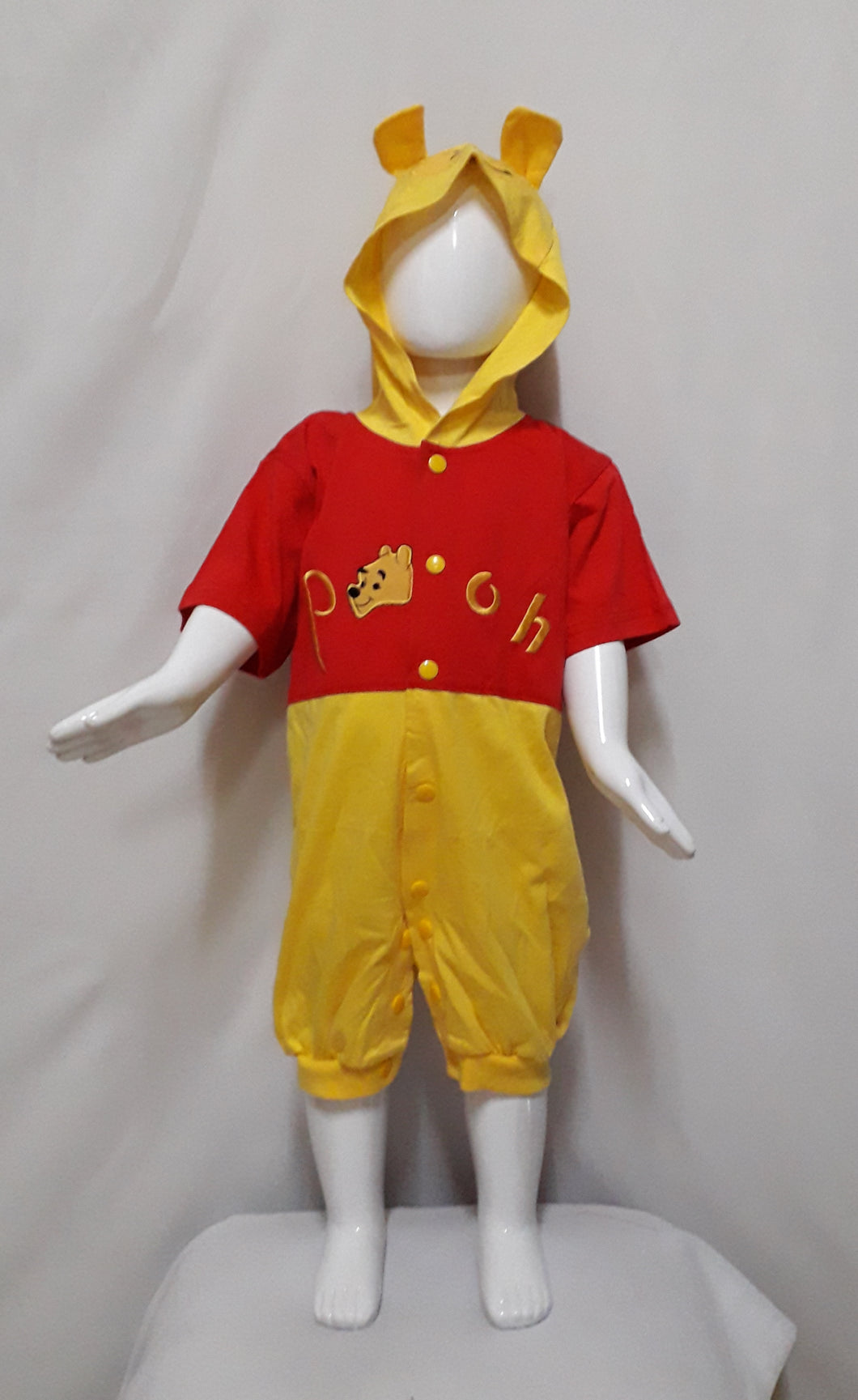 Pooh Costume for 1-2y