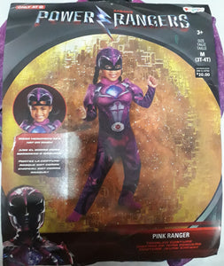 Power Ranger (Pink Ranger) Costume for Kids 3-4y