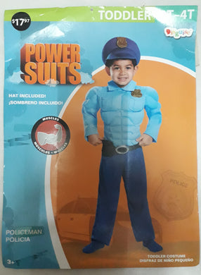 Police Costume for Kids 3-4y