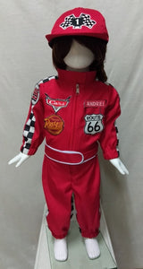 Race Car Driver Costume for 1-10y