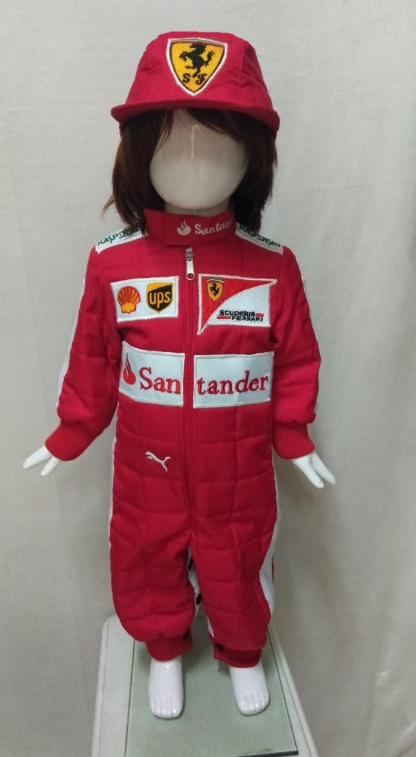 Santander Car Racer Uniform for Kids 1yo