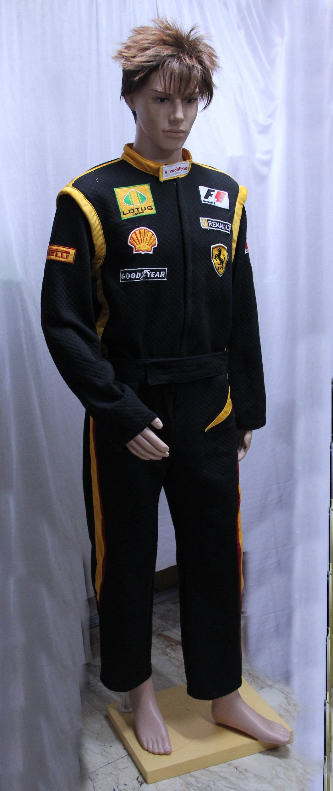 Race Car Driver Black Costume