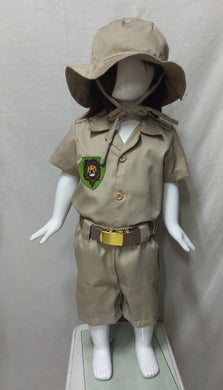 Safari Costume for 1y