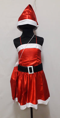 Santa Claus Girl Costume for Kids 3-5y