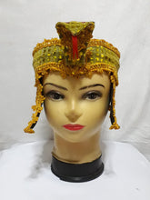 Load image into Gallery viewer, Snake Cleopatra Headdress