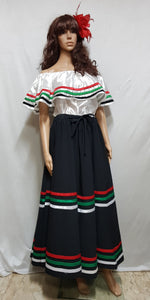 Colombia, Mexico, South America Costume Black