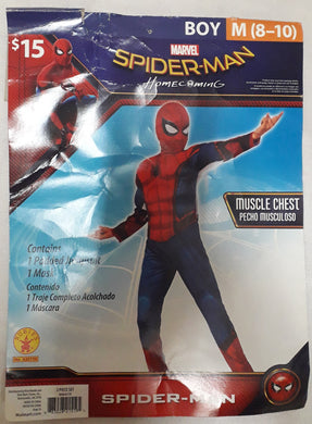 Spiderman Costume for Kids 8-9yo
