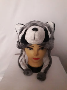 Raccoon Headdress