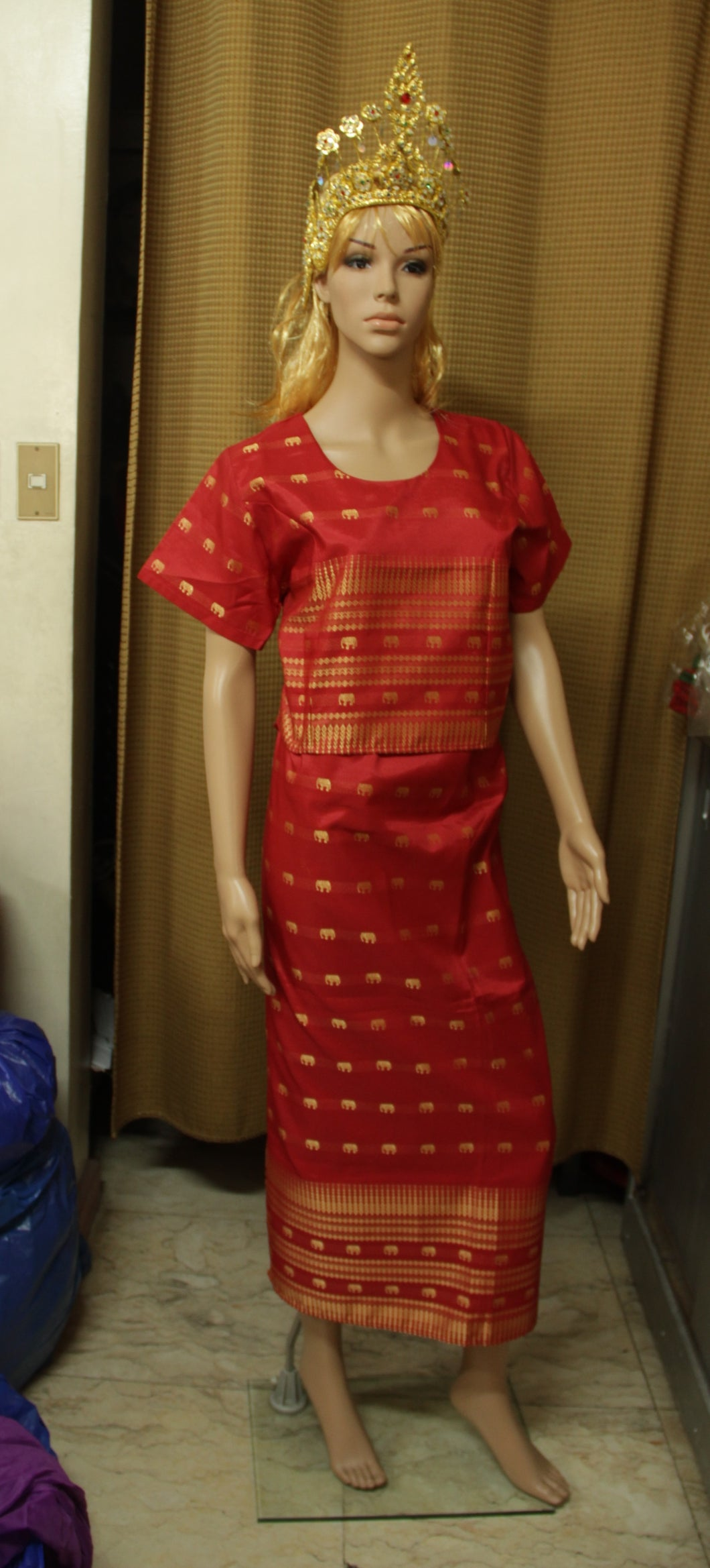 Thailand Costume Red