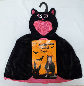 Toddler hooded cape (2-4yo)