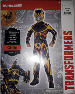 Transformers Bumblebee Costume for Kids 4-6y