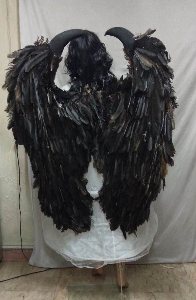 Maleficent Black Wing Large