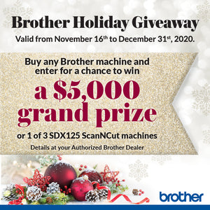 Brother Holiday Giveaway