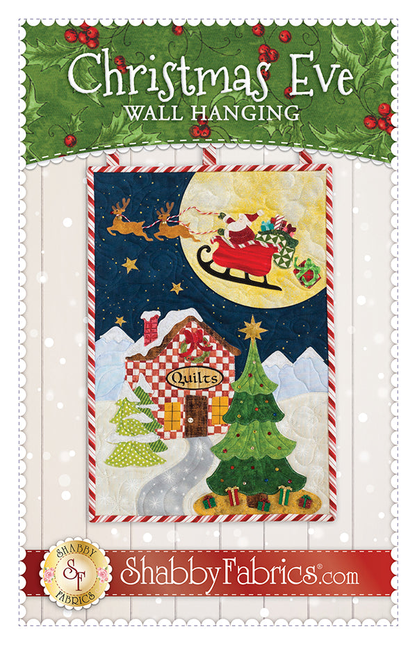 Christmas Eve Wall Hanging Pattern