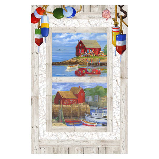 Catch of the Day - Digital Panel White Multi