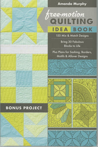 Free-Motion Quilting Idea Book - Softcover