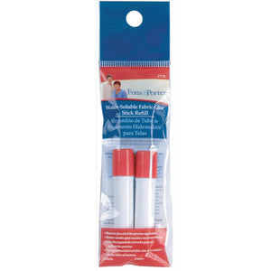Fons & Porter Water Soluble Fabric Glue - 2 Stick Refill