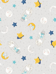 All Our Stars - Grey Print