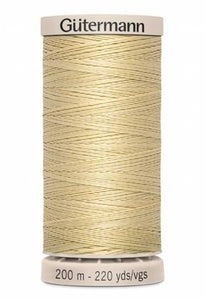Gutermann Cotton Hand Quilting Thread  - Cream