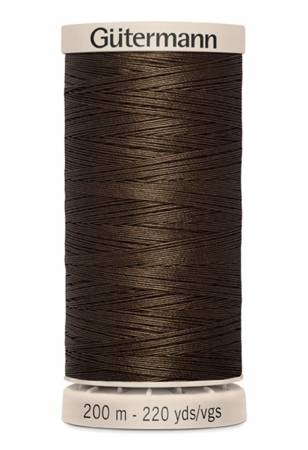 Gutermann Cotton Hand Quilting Thread  - Chocolate