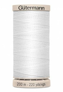 Gutermann Cotton Hand Quilting Thread  - White