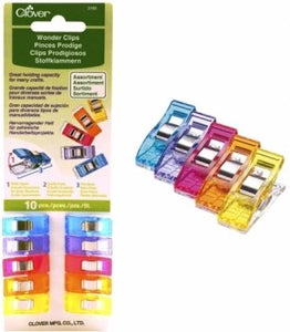Wonder Clips - Assorted Colours (10pc)