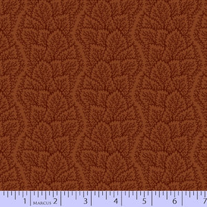 Maple Lake Flannel - Leafy Path Rust
